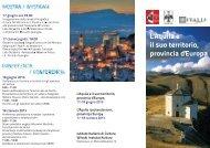 L'Aquila e il suo territorio, provincia d'Europa - Comune dell'Aquila