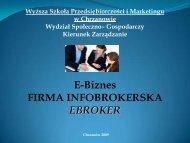 E-broker_1a - WSPiM Chrzanów