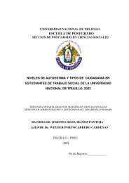 ESCUELA DE POSTGRADO - Regreso a la página principal
