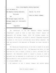 Order for Default Judgment - 1 1 2 3 4 5 6 7 8 9 10 11 12 ... - NH.gov