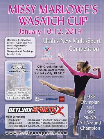 MISSY MARLOWE'S WASATCH CUP - NetLynx Sports