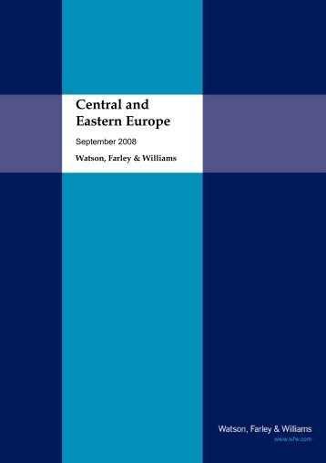 Central and Eastern Europe - Watson, Farley & Williams