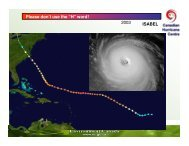 Canadian Hurricane Centre (Part Two)