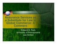 assurance service - Econometica
