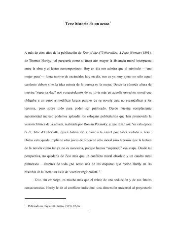 TESS: HISTORIA DE UN ACOSO - Luz Aurora Pimentel