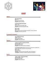 AGENDA 1-15 Gener 2013.pdf - Consell Comarcal de la Segarra