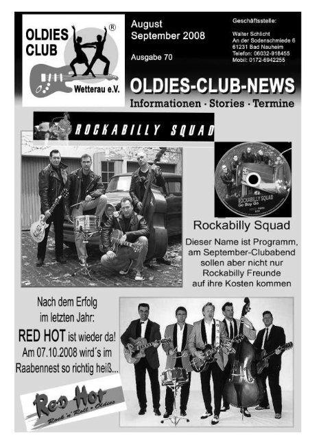 Rock N Roll In Wien Vor Dem Em Home Oldies Club Wetterau