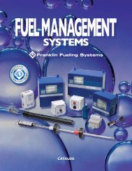 Franklin Fueling Systems - National Energy Equipment