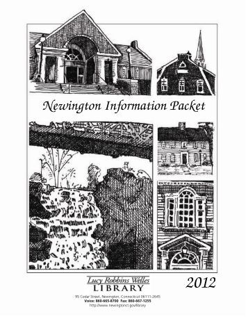 Newington Information Packet - Town of Newington