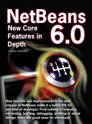 New Core Features in Depth - NetBeans