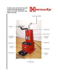 Hornady 050160 Lock-N-Load Case Prep Trio 110 And 220 Volt Red