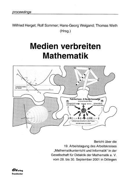 edien ve gesellschaft fur didaktik der mathematik
