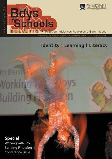 Identity | Learning | Literacy - University of Newcastle