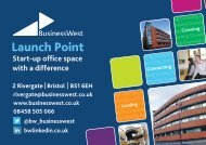 Launch Point - Business West