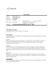 Styresak 071-08 V Styrerapportering nr 10 - 2008 - Helse Førde