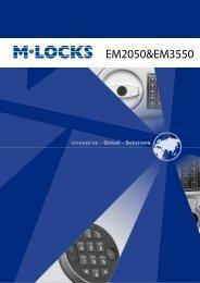 EM2050&EM3550 - M-Locks