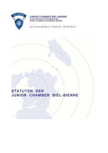 Statuten D - Junior Chamber Biel-Bienne