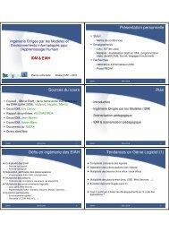 Cours IDM & EIAH v1 - Site Master CHM&IE