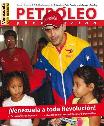 Petróleo y Revolución - Año 4 - Número 12
