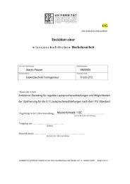 Bachelorarbeit - Institut für Elektronische Musik und Akustik - IEM