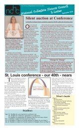 September 2005 - National Collegiate Honors Council