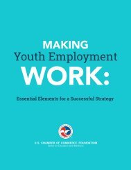 Making Youth Employment Work