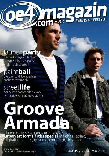 Groove Armada - newbreeze media