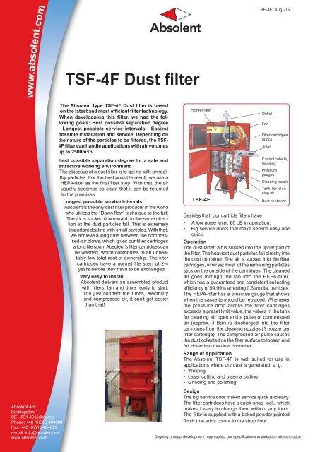 TSF-4F Dust filter