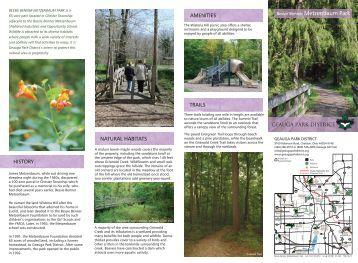 Bessie Benner Metzenbaum Park - Geauga Park District