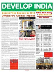 Develop India Year 5, Vol. 1, Issue 241, 17-24 March, 2013.pmd