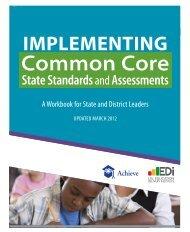 IMPLEMENTING Common Core - Achieve