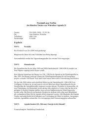 Protokoll Runder Tisch 29.08.00 - Agenda-wuerselen.de