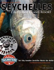 AlPhONSE ISlANd RESORt - Tailwaters Fly Fishing Co.