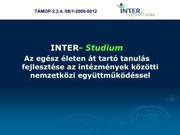 Nagy István - módszertani fejlesztő csoport tagja - inter-studium.hu