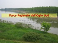 Parco Regionale dell'Oglio Sud - Parco Oglio Sud