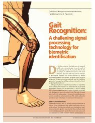 Gait Recognition: Gait Recognition: - ABES Engineering College