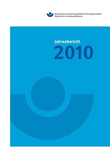 Jahresbericht - Bayerische Landesunfallkasse