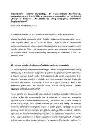 Przemówienie - Fundacja im. Friedricha Eberta