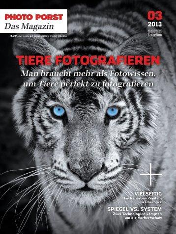 Tiere foTografieren - Photo Porst
