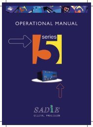 OPERATIONAL MANUAL - Test and Measurement