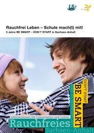 Rauchfreies - Landesstelle für Suchtfragen im Land Sachsen-Anhalt