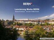 Präsentation - Wirtschaftsraum Bern