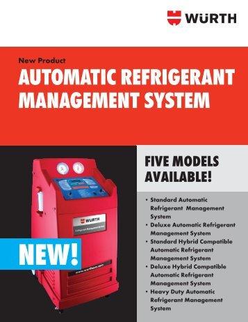 AUTOMATIC REFRIGERANT MANAGEMENT SYSTEM - Wurth USA