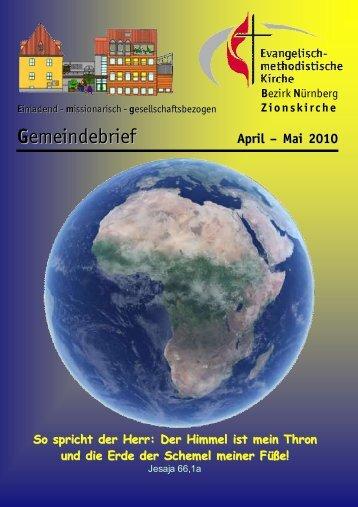 Gemeindebrief Apr-Mai 2010.DOC - Zionsgemeinde
