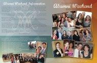 Alumni Weekend Information - William & Mary Law