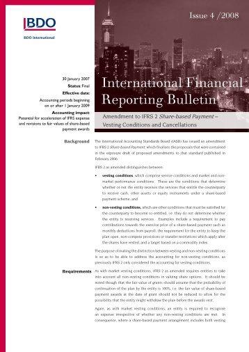 IFRB-2008-04 - BDO International