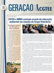 Boletim - Junho de 2007 - CGTEE