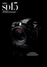 Sigma SD15 Brochure - Sigma Imaging (UK)