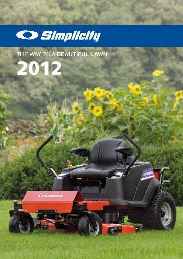 Zahradní technika SIMPLICITY - motor jikov group