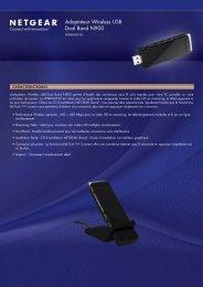 Adaptateur Wireless USB Dual Band N900 - Ais-info.fr